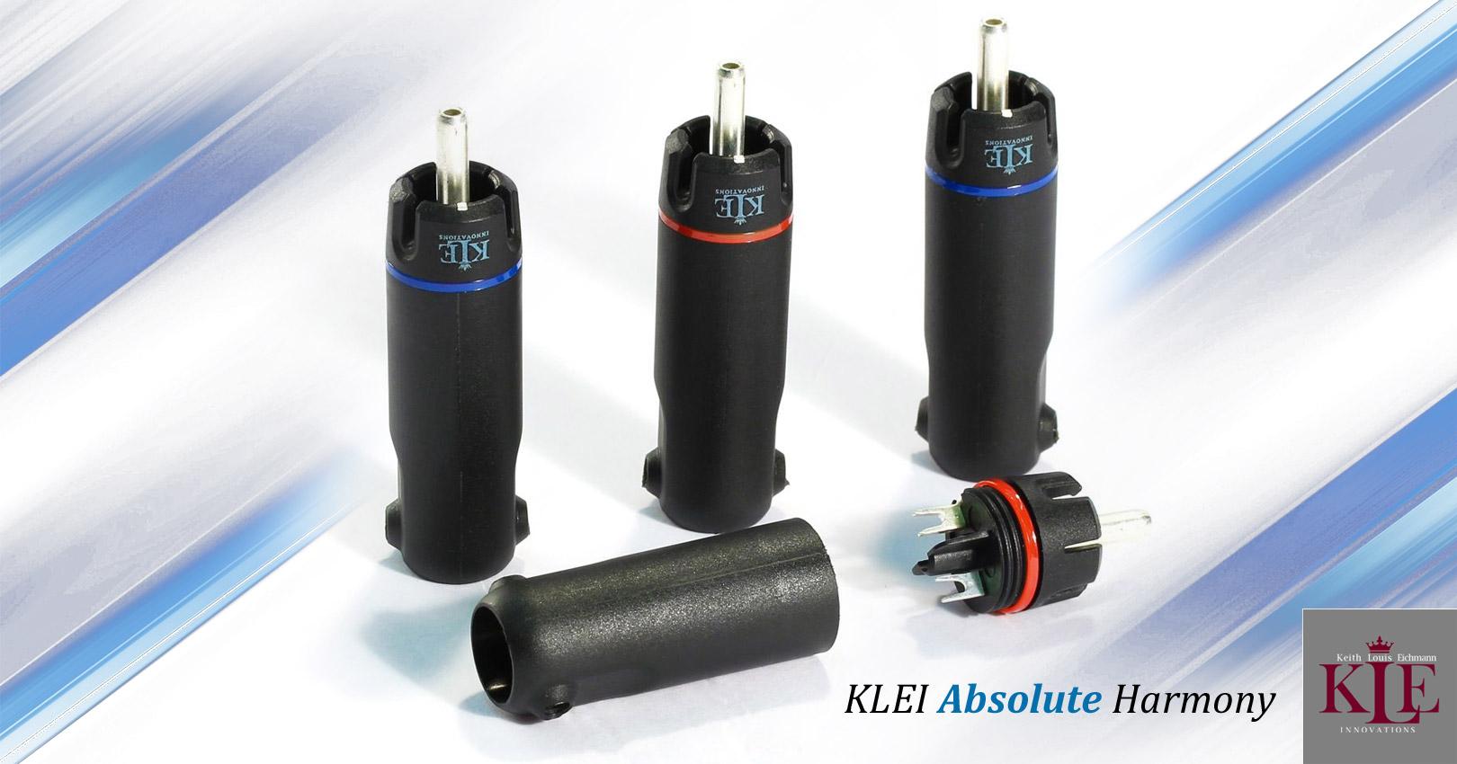 KLEI Absolute Harmony RCA plugs