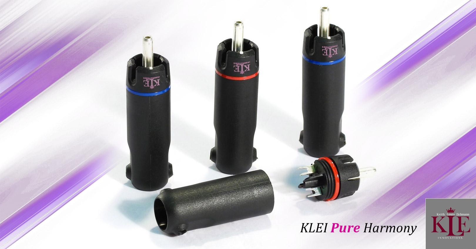 KLEI Pure Harmony RCA plugs