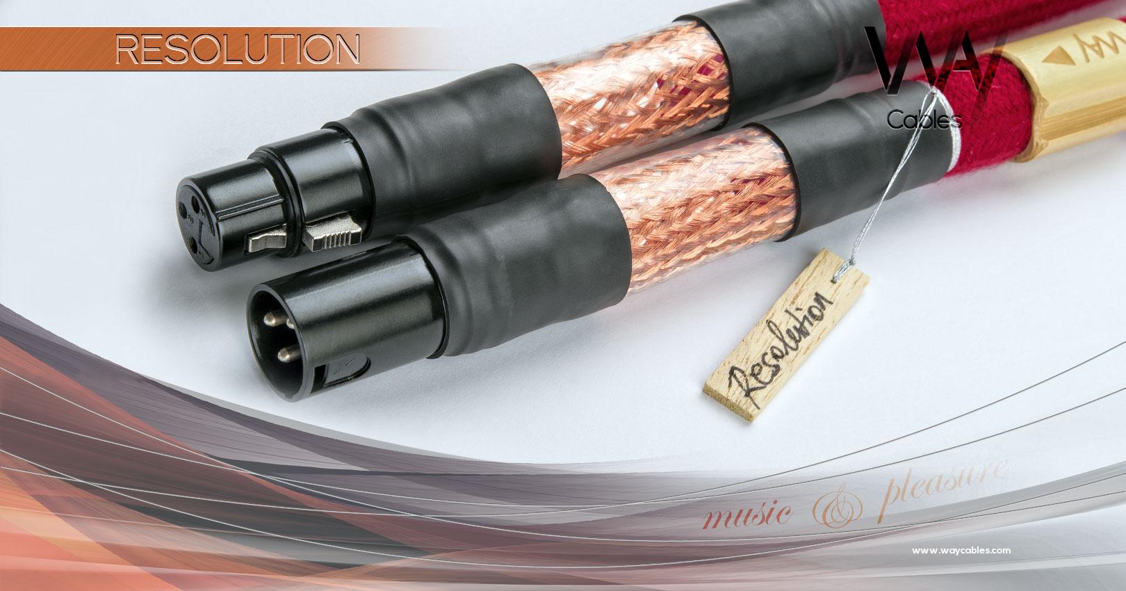 WAY Cables - RESOLUTION - digital XLR / AES-EBU audio cable