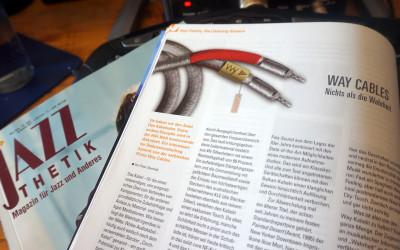 Überprüfung von Jazzthetik Magazin: Way Cables – Nichts als die Wahrheit (Nothing but The Truth)