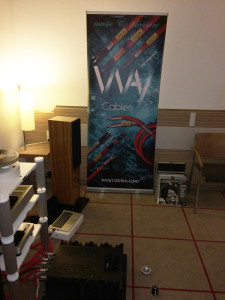 WAY Cables in action at Hi-Fi Show in Hamburg 2016