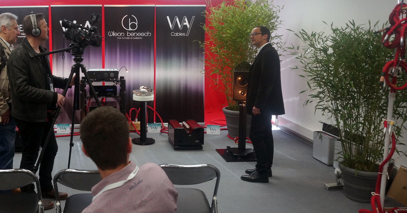WAY Cables, Viva Audio, Wilson Benesch and Ibex Audio at High End Show in Munich 2016