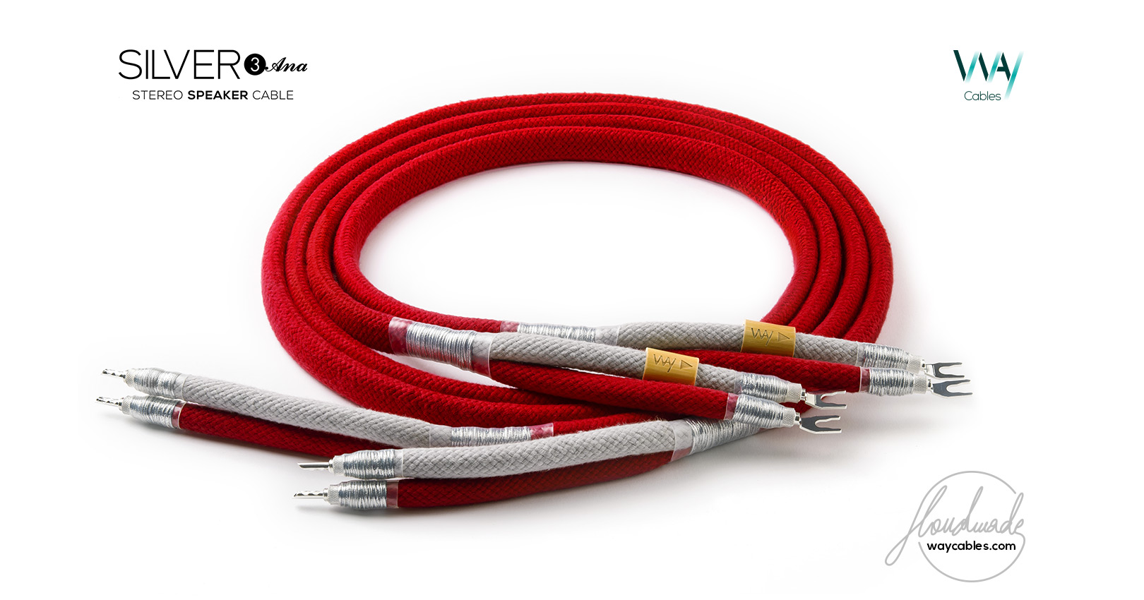 WAY Cables > High-End Speaker Cables & Speaker Jumpers